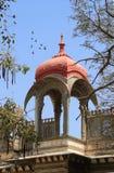 Dach architektury Dziejowy łuk w Udaipur, Rajasthan, Indi zdjęcia royalty free