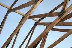 Dach-Aufbau Stockbild