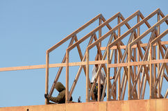 Dach-Binder Lizenzfreies Stockfoto