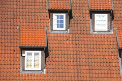 Dach, dachowi okno obrazy royalty free
