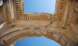 Dach der Cecilius Bibliothek lizenzfreies stockfoto