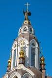 Dach der Kirche Stockbild