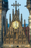 Die Kirche unserer Dame vor Tyn (Prag, Tschechische Republik) Lizenzfreies Stockbild