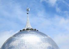 Dach der Moschee in Sorong stockbild