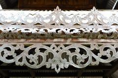 Dach der thailändischen Art Stockbild