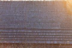 Dach des alten Hauses stockbilder