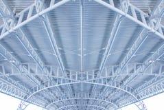 Dach des Außenflughafens Stockbild