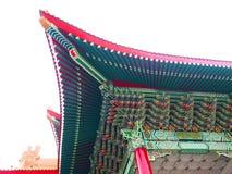 Dach des chinesischen Tempels lizenzfreies stockbild
