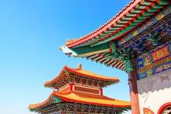 Dach des chinesischen Tempels Lizenzfreie Stockfotografie