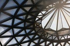 Dach des Glashauses Lizenzfreies Stockbild