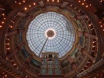 Dach des globalen Hafeneinkaufszentrums Shanghais Lizenzfreie Stockfotos