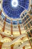 Dach des globalen Hafeneinkaufszentrums Shanghais Stockfotografie