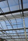 Dach des grünen Hauses Lizenzfreies Stockbild