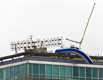 Dach des-hotell Daniel Arkivfoton