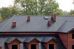 Dach des neuen Gebäudes Lizenzfreie Stockfotos
