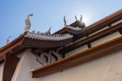 Dach des siamesischen Tempels Stockbild