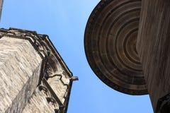 Dach des Tempels Stockfotos