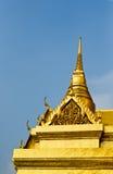 Dach des Tempels Stockfoto