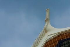 Dach des Tempels lizenzfreie stockfotografie