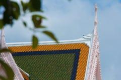 Dach des Tempels lizenzfreies stockfoto