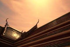 Dach des Tempels Lizenzfreies Stockbild