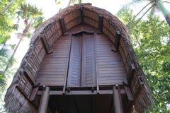 Dach des traditionellen Hauses Indonesien, Version 1 stockbilder