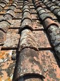 Dach-Detail stockfoto