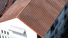 Dach dom stary i brudny który Zdjęcie Stock