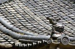 Dach eines japanischen Tempels Stockbilder