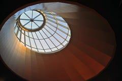 Dach eines Malls Stockbild