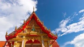 Dach eines Tempels Lizenzfreie Stockfotos