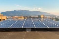 Dach energia słoneczna Obraz Royalty Free