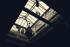 Dach hergestellt vom Glas Lizenzfreie Stockfotografie