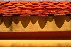 Dach i cień Zdjęcia Stock