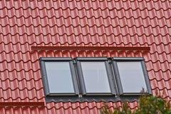 Dach i okno Zdjęcie Royalty Free