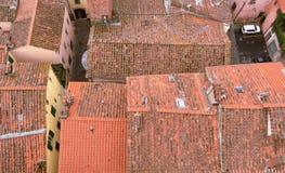 Dach, Lucca Fotografia Stock