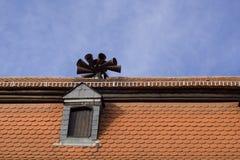 Dach - Notfall Lizenzfreie Stockfotos