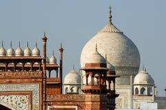 Dach-Oberseite von Taj Mahal Lizenzfreies Stockbild
