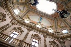 Dach Palacio DA Bolsa Stockbilder