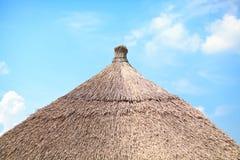 dach pokrywać strzechą Fotografia Royalty Free