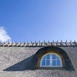 dach pokrywać strzechą okno Obraz Stock