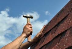Dach-Reparatur Lizenzfreie Stockfotos