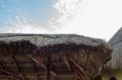 Dach robić up siano Fotografia Stock