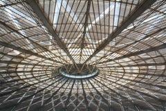 Dach Südbahnhofs Shanghais Stockbild