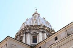 Dach Sant ` Agnese w Agone Zdjęcie Stock