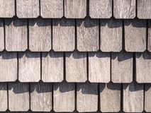 Dach schichtet das Format, das mit harten Schatten füllt lizenzfreies stockbild