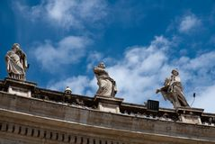 Dach-Skulptur Stockbild