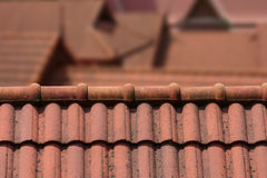 Dach-Spitze Lizenzfreie Stockbilder