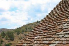 Dach stary pustynia dom, Cypr Obraz Royalty Free