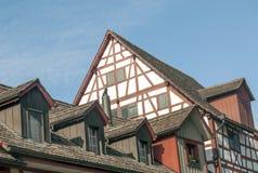 Dach in Stein am Rhein Lizenzfreies Stockbild